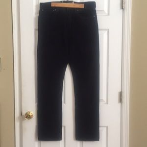 New navy JCrew 770 cords 34 waist and 34 length